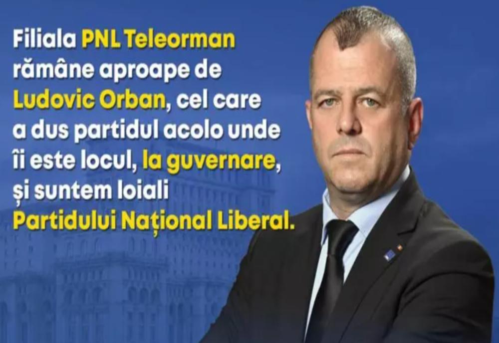 Organizația PNL Teleorman rămâne aproape de Ludovic Orban