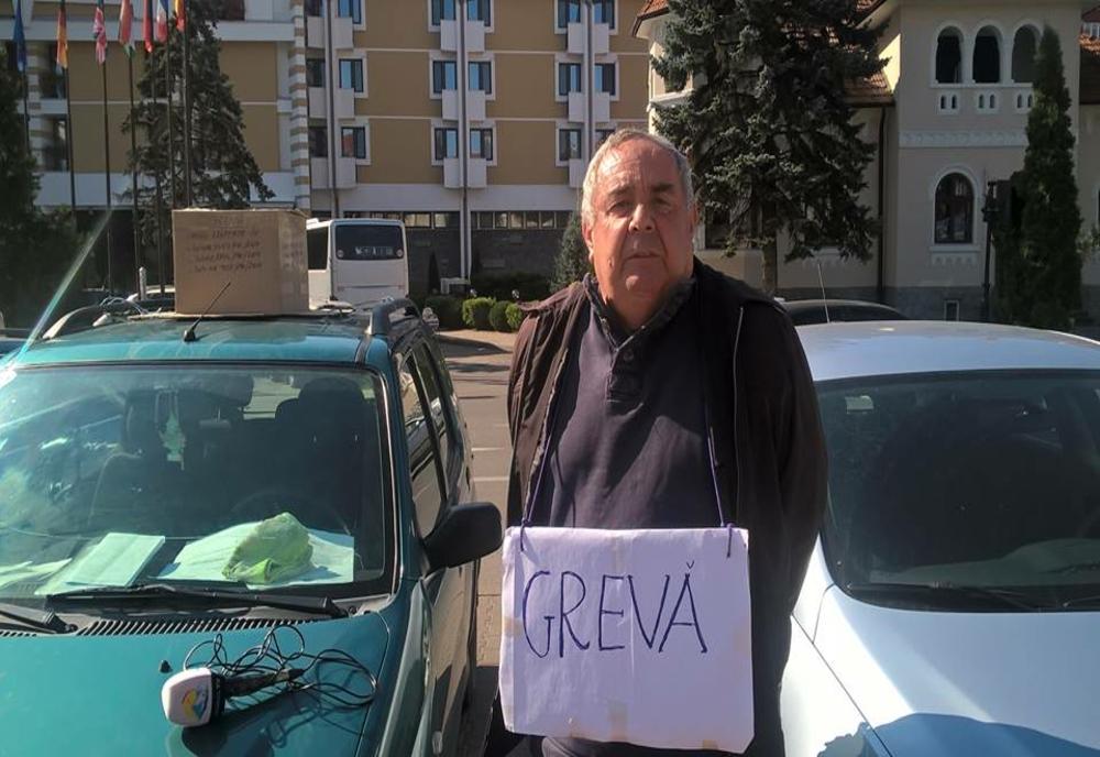 Bârgăuanul care a vrut să se sinucidă în fața Prefecturii Bistrița-Năsăud, pus sub control judiciar
